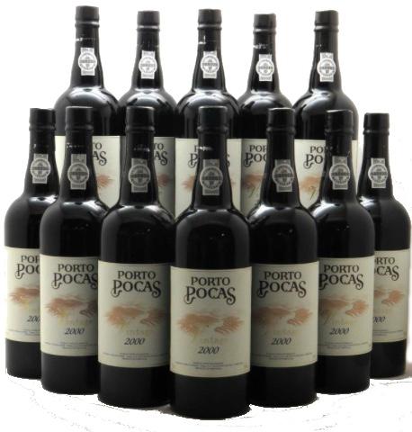 12 Flaschen Porto Pocas Vintage Port 2000 iDealwine