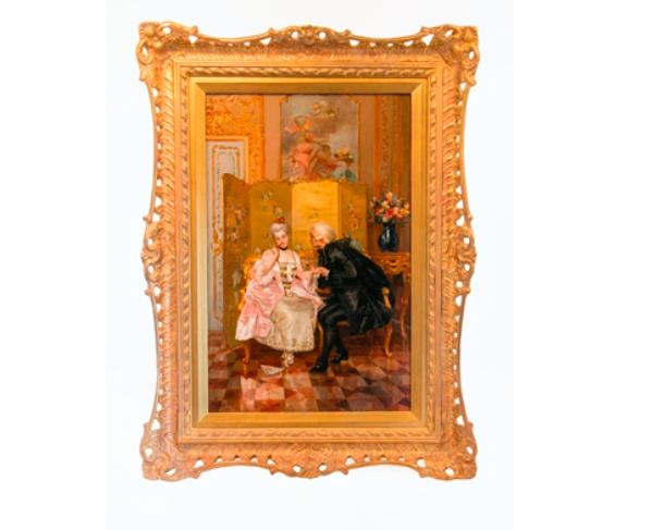 Fabio Cipolla (1854-1935) Frieriet. Utrop: 31.700 sek. Bigwood Fine Art Auctioneers.