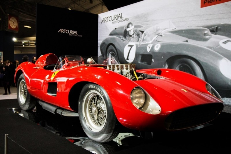 Ferrari 335 Sport Scaglietti, 1957. Immagine per gentile concessione di Artcurial Ferrari 335 Sport Scaglietti, 1957.