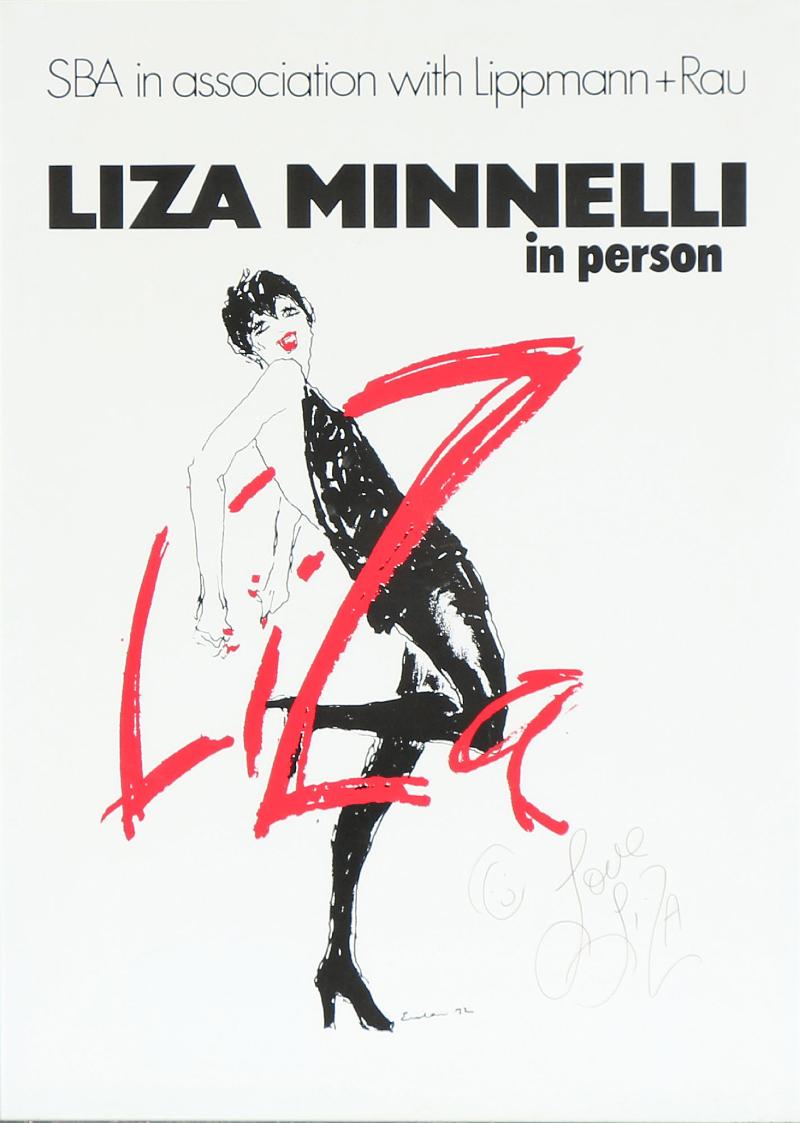 Poster, Liza Minnelli (1972) 85 x 60. Utropspris: 3 700 SEK Bruun Rasmussen