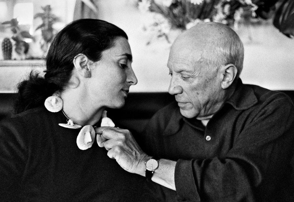 Pablo Picasso und Jacqueline Roque | Foto via mam-e.it