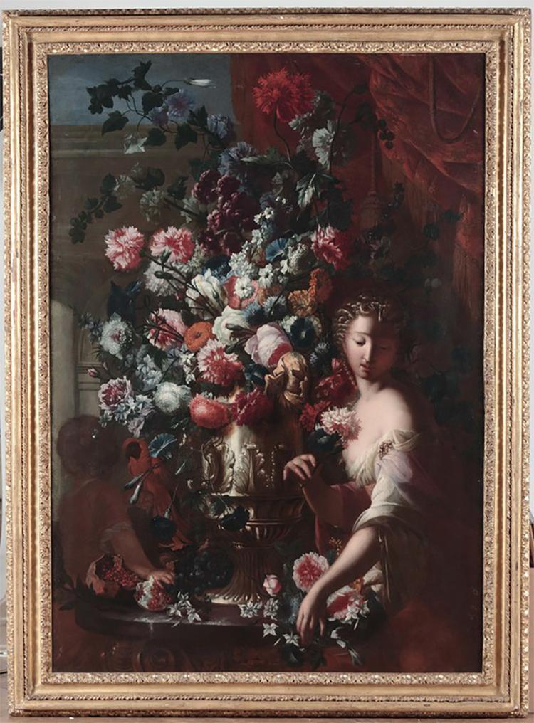 Karel Van Vogelaer, 1600-tal. Lot: 148. Utrop: 232.000 SEK.