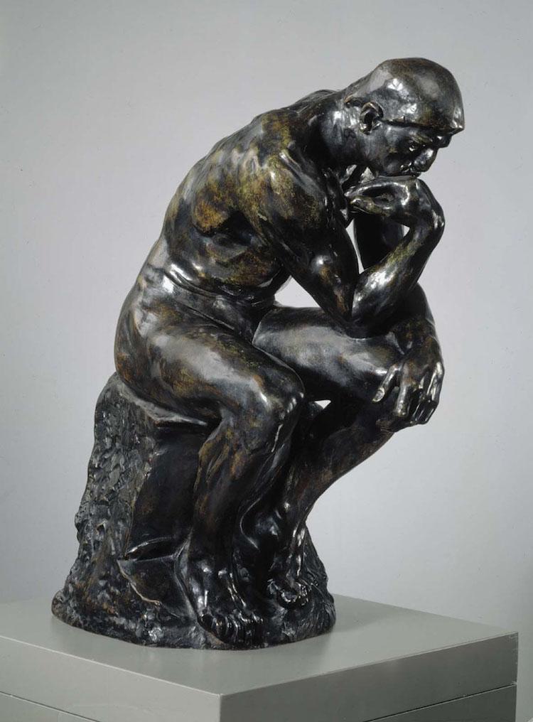 Ett av Rodins mest kända verk; Tänkaren.