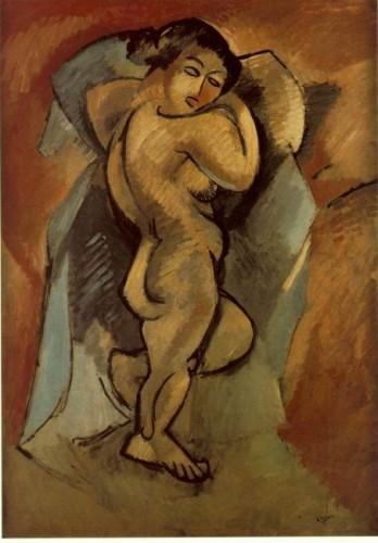 Georges Braque, Le Grand Nu Musée national d'art moderne, Paris