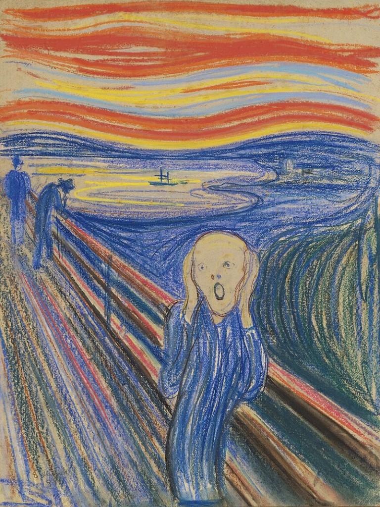 Edvard Munch, Der Schrei, Version von 1895, Privatbesitz