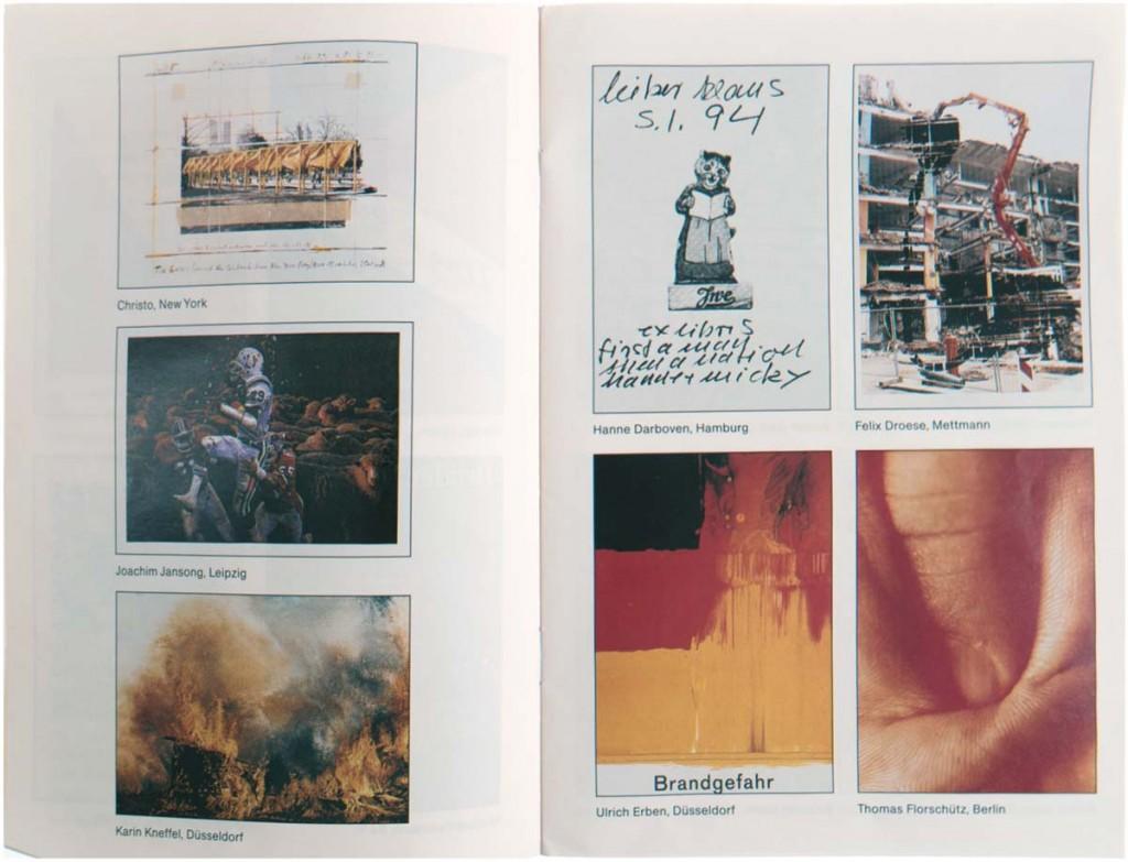 Mappenwerk - Projekt FLAGGE ZEIGEN, Mappe mit 38 Künstlerplakaten, Blatt 84x59,5 cm, 1994 Limitpreis: 1.800 EUR