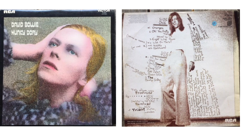 David Bowie, Hunky Dory, 1971.
