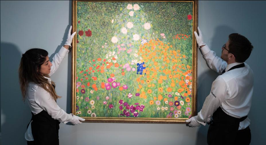 Gustav KLIMT (1862-1918), Bauerngarten (1907), vendu 59 004 638 $ en mars dernier par Sotheby's London