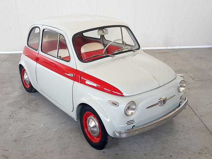 """Fiat - Nuova 500 Sport """"tetto metallico"""" - 1959"""