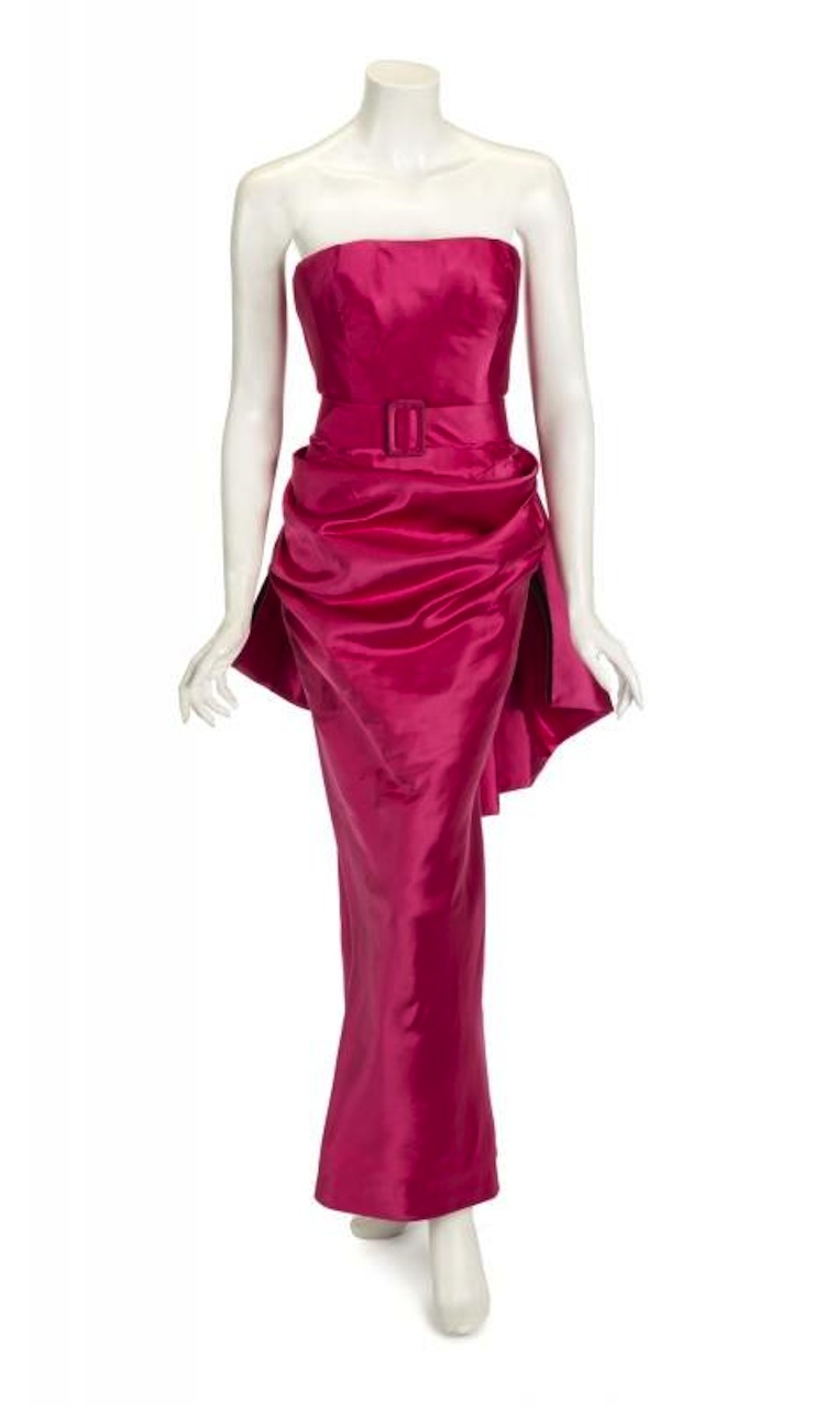 MADONNA MATERIAL GIRL GOWN. Estimate $40,000 - $60,000. Julien's Auctions