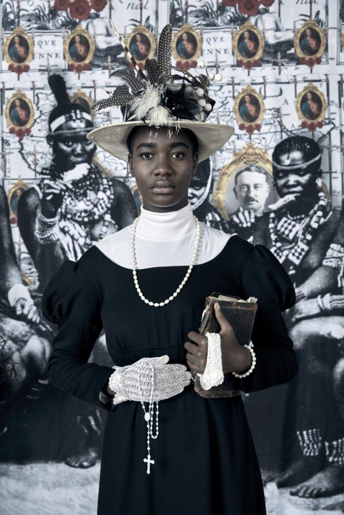 Kudzanai Chiurai, Genesis [Je n'isi isi] XI (2016). Collection Fondation Louis Vuitton. © Kudzanai Chiurai. Courtesy of Goodman Gallery, Johannesburg.