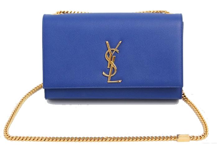 Monogram Medium Leather Bag Saint Laurent Eppli