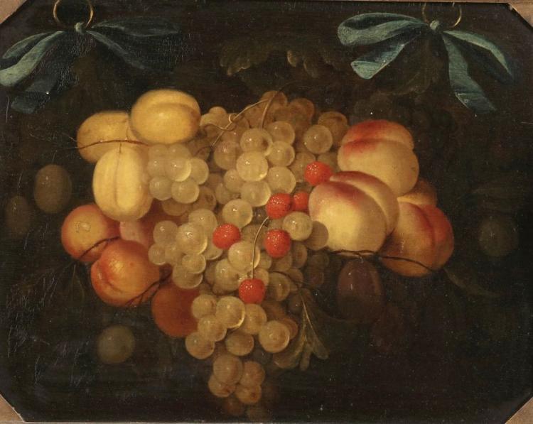 JORIS VAN SON (1623 Antwerpen 1667) - Früchtestillleben, Öl/Holz