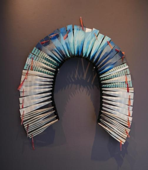 Parure Dorsale n°2 (Sao Paulo), Photographie, Impresion photographique sur papier mat et Pergamano, 85 x 75 cm 2017, exemplaire unique