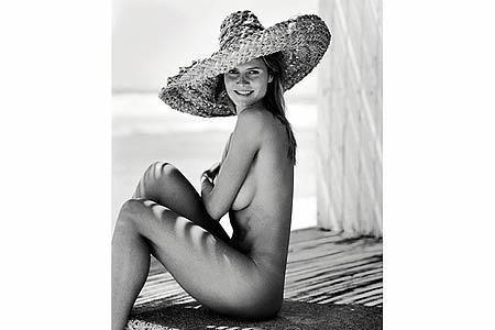 Heidi Klum im Pirelli-Kalender 2003, Fotograf: Bruce Weber