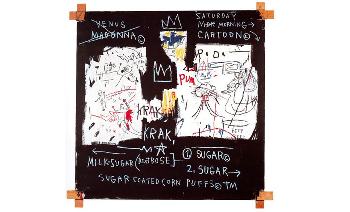 Jean-Michel Basquiat, A Panel of Experts, 1982 Courtesy The Montreal Museum of Fine Arts