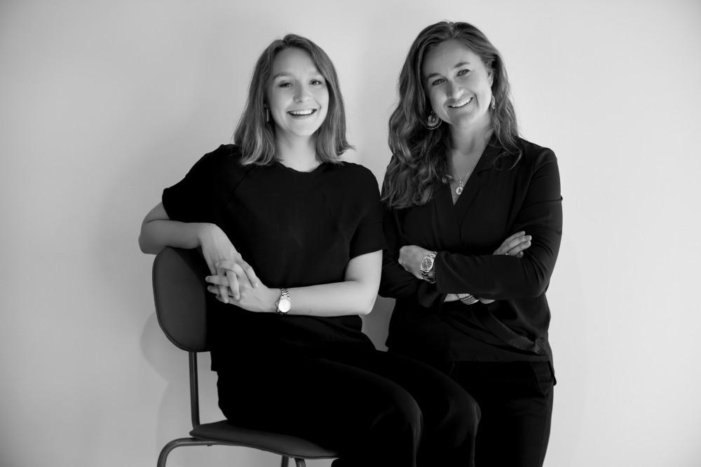 Sylvia Rynell och Bernice Glimberg står bakom Affordable Art Fair.