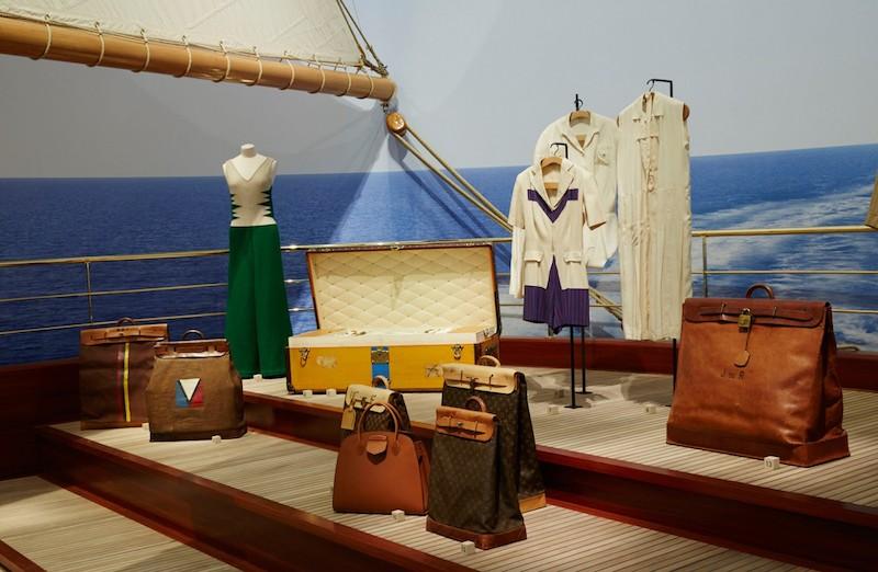 En annan utställning som drog folk till Grand Palais i Paris för ett par år sedan var Louis Vuitton Voyagez