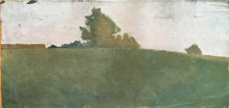 """Ett av """"fynden"""" efter den danska konstnärinnan"""