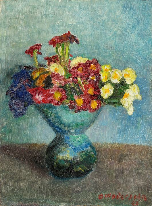Otto Modersohn, Bunch of flowers, 1927
