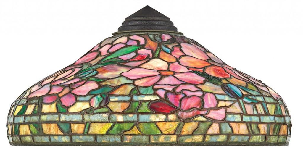 Tiffany Peony lamp shade