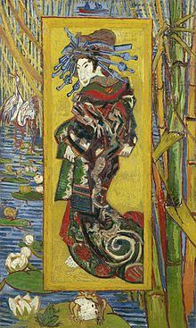 VINCENT VAN GOGH (1853-1890) - Die Kurtisane (nach KEISAI EISEN, jap. Künstler 1790-1848), 1887