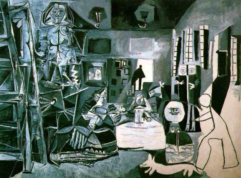 """""""Les Ménines"""", år 1957. Foto: barcelonasecreta.com."""