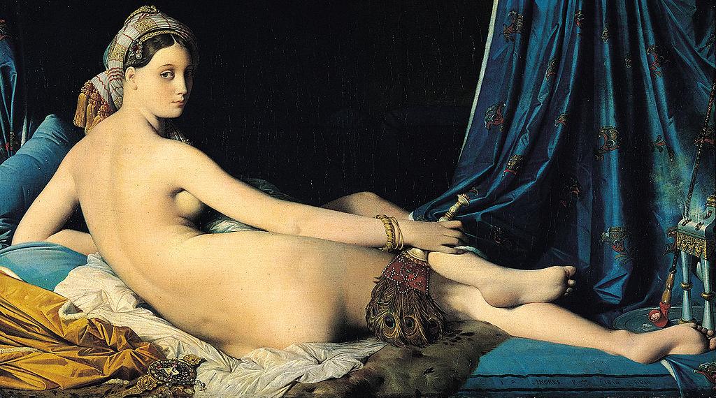Jean Auguste Dominique Ingres La Grande Odalisque, 1814 Musée du Louvre