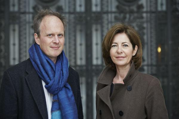 Florence Bourgeois, Directrice, et Christoph Wiesner, Directeur Artistique de Paris Photo ©Jérémie Bouillon, 2015