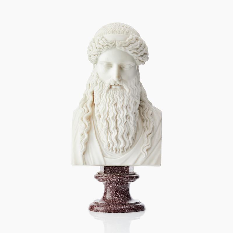 Säsongens största överraskning. Den italienske konstnären Bartolomeo Cavaceppi skulptur av Dionysus Sardanapalus i marmor ropades ut för 100 000 kronor men klubbades för hela 3,7 miljoner kronor