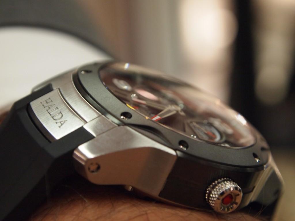 Wristshot: Halda Race Pilot, Mechanical Module.