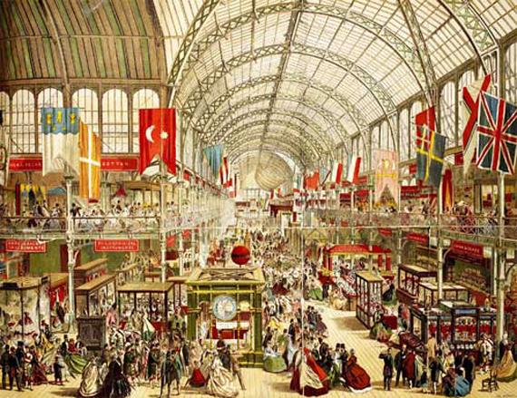 Blog-Pic-First-Worlds-Fair_Världsutställningen-1851_Stockholm-Furniture-Fair