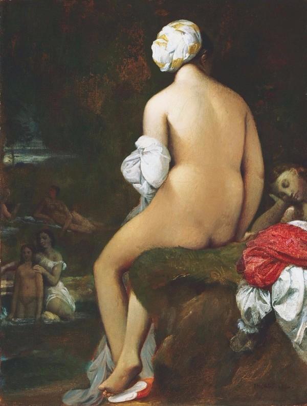 Jean Auguste Dominique, The small bather, 1826