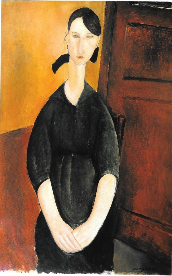 Amedeo Modigliani, Paulette Jourdain (1919) Bild via Sotheby's