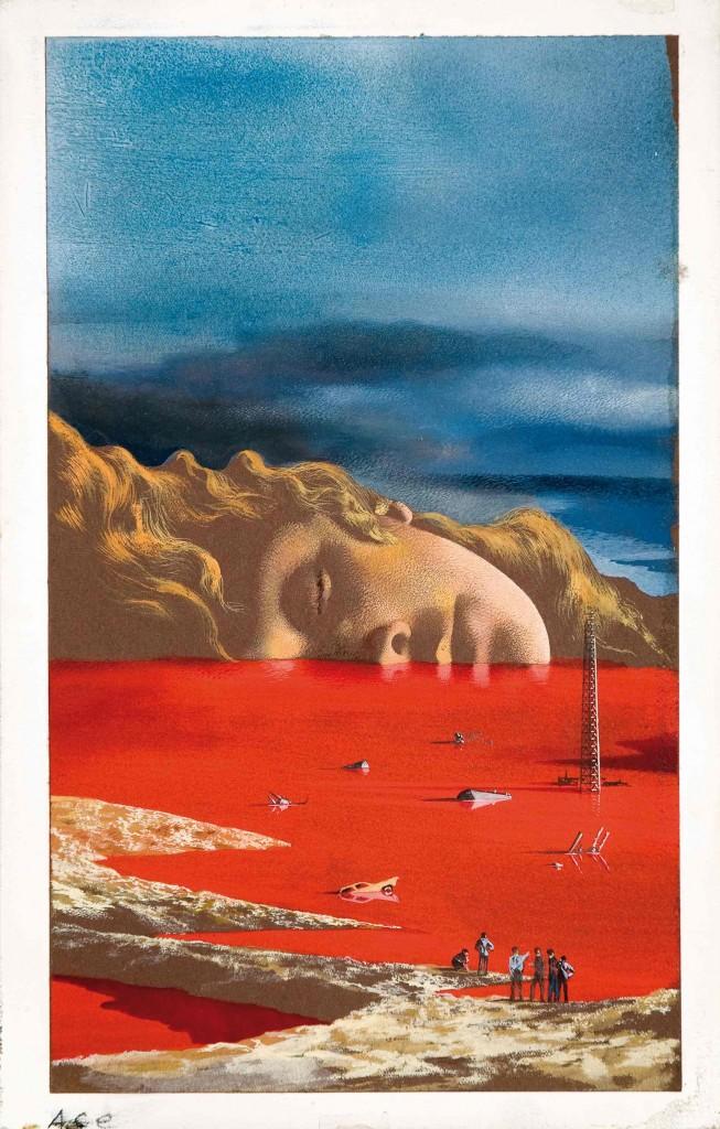 KAREL THOLE - The General Zapped an Angel, Original Cover eines Howard Fast-Sammelbandes, 1970 Schätzpreis: 1.300-2.500 EUR