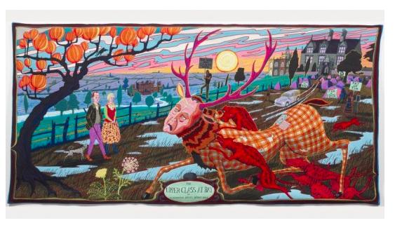 Grayson Perry, The Vanity of Small Differences, 2013. Bild via Victoria Miro Gallery.