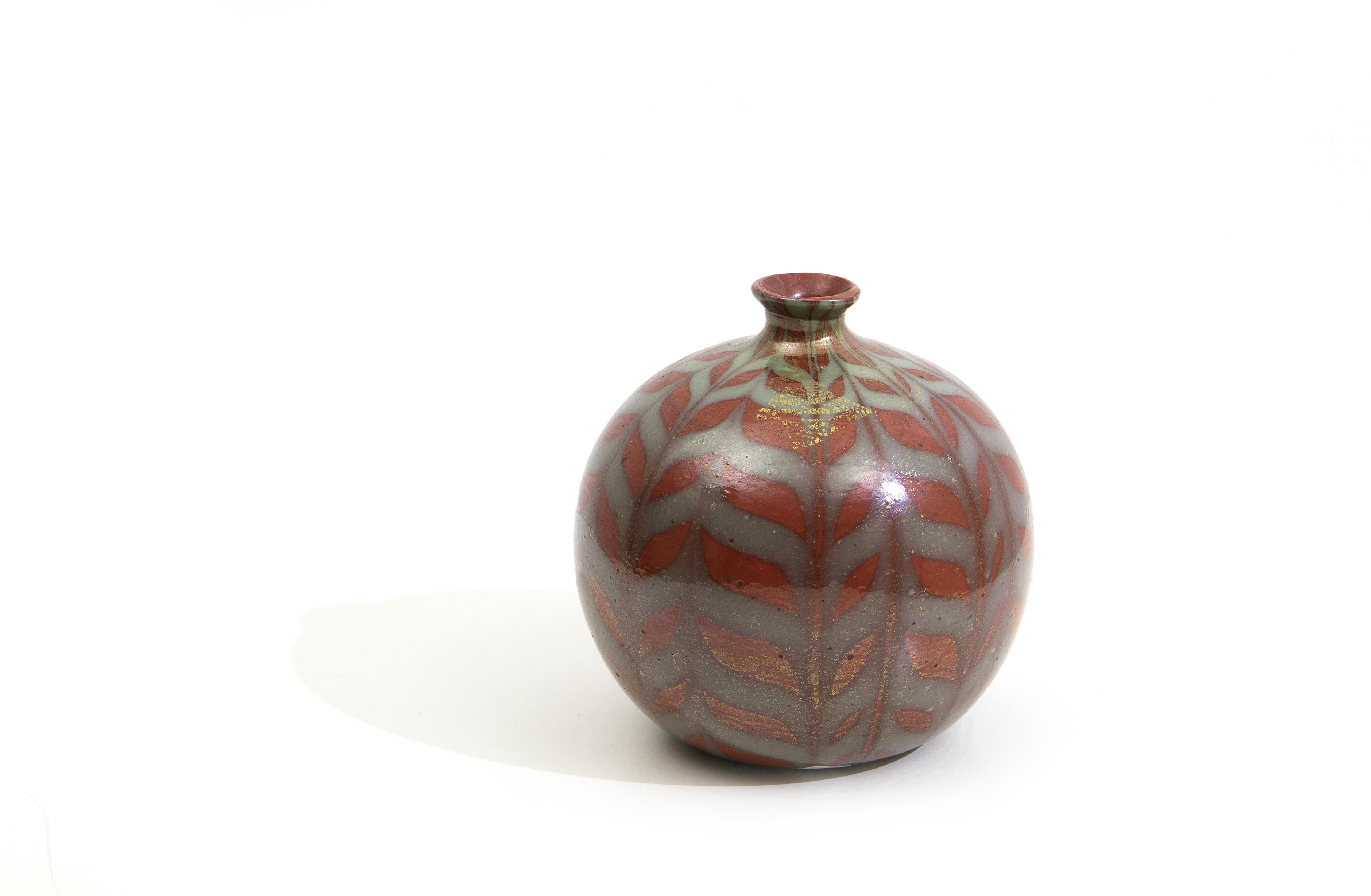 A rare coral vase, Carlo Scarpa, M.V.M. Capellin. c. 1930.