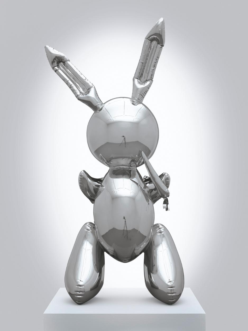 Rabbit. 1986. Jeff Koons. Foto: Christie's