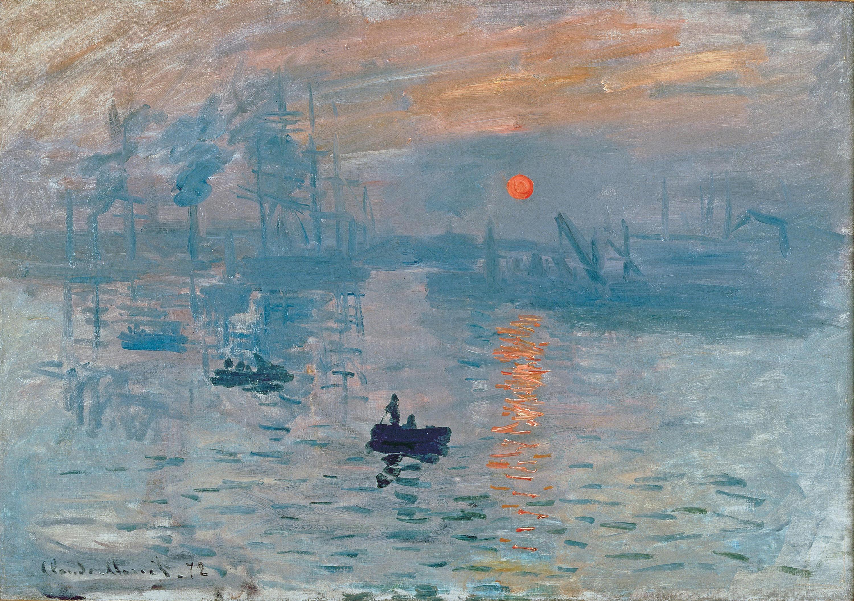 Claude Monet, Impression, soleil levant, 1872, collection of Musée Marmottan Monet