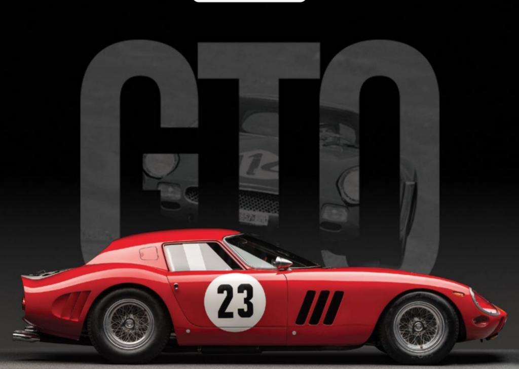 Ferrari 250 GTO de 1962, image ©RM Sotheby's