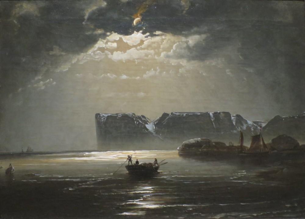 Nordkapp, Peder Balke, 1840-tal. Foto via Wikicommons.