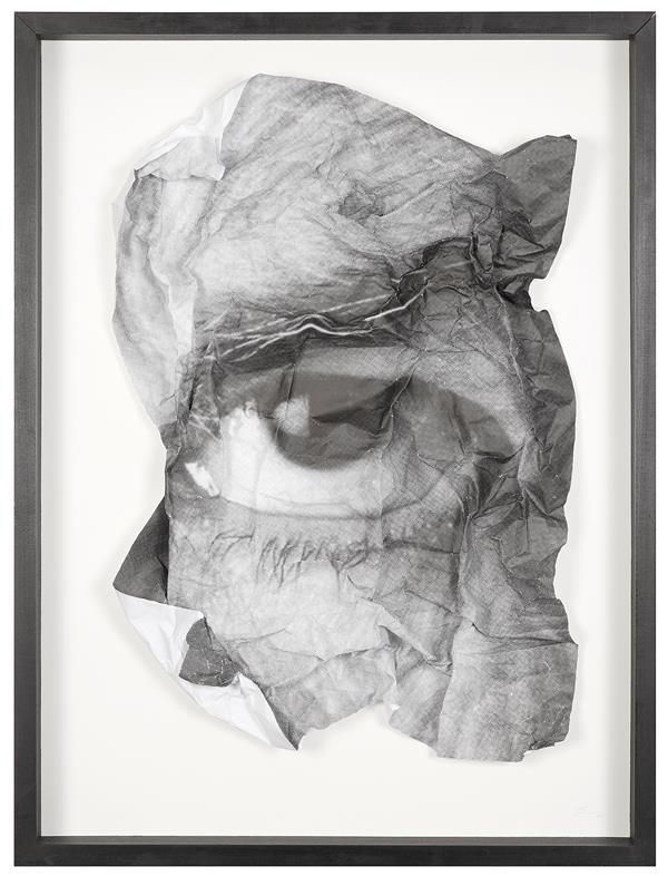 JR (né en 1983)  The Wrinkles of the City, Los Angeles Oeil Froissé 5, 2011