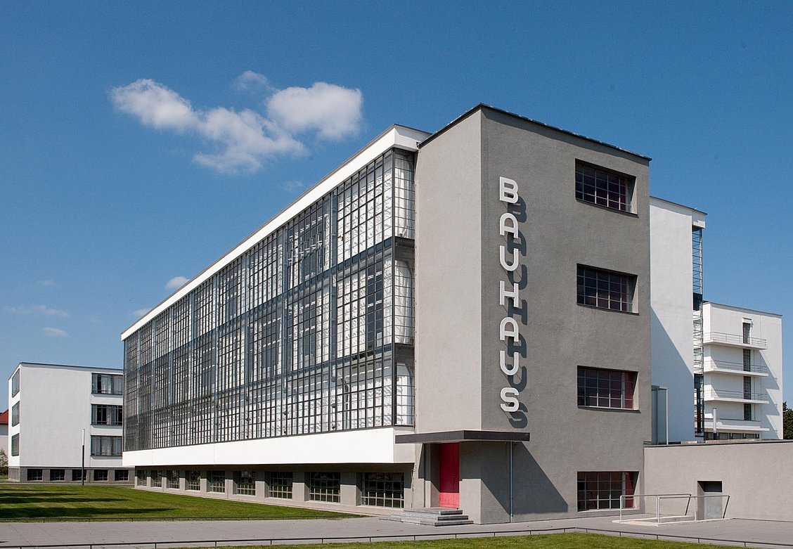 The Bauhaus campus in Dessau. Photo: Bauhaus Dessau