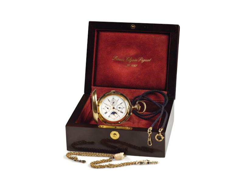 Klocka, Audemars Piguet, 18k roseguld, gjord 1892. No. 4172 Utrop: 70.000 Euro