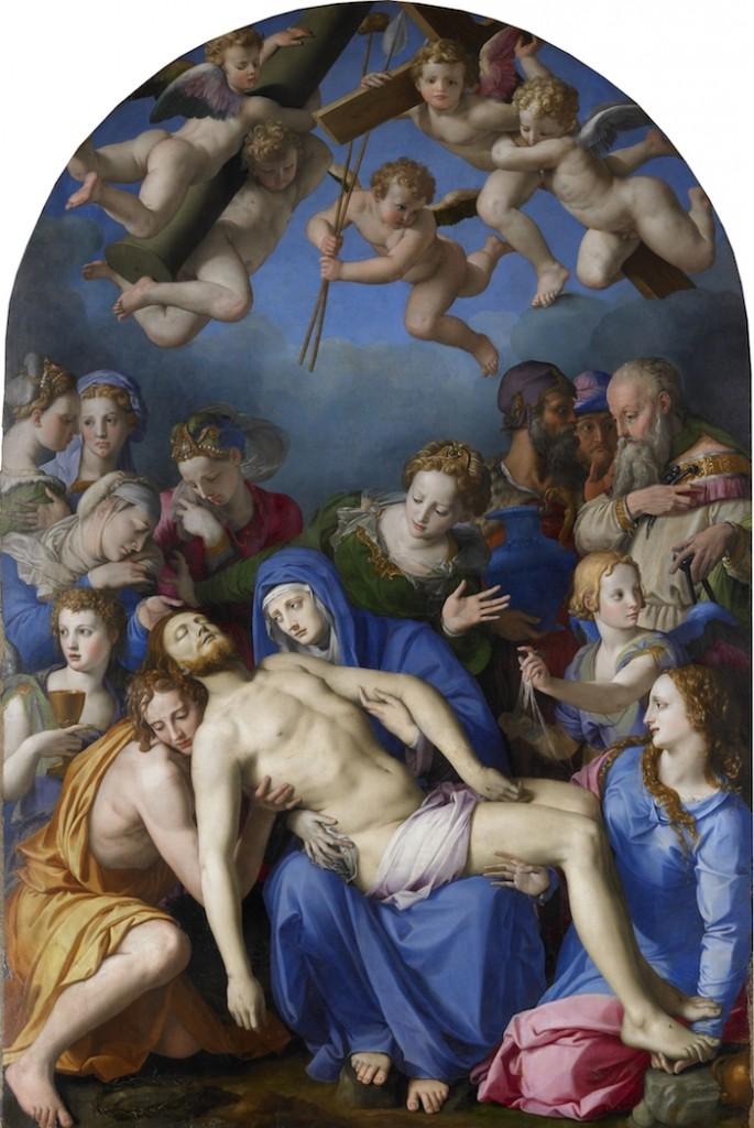 Deposizione di Cristo, 1540-1545 circa. Immagine via Pinterest.