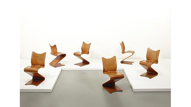 "Verner Panton ""S-Chair"", Entwurf 1960 Foto: Phillips"