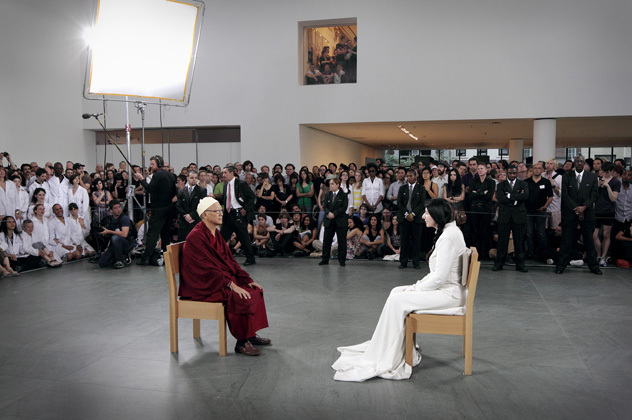 The artist is present, Marina Abramović, MoMA, New-York