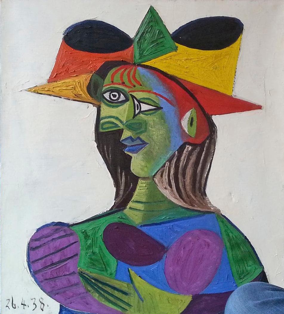 Pablo Picasso, Buste de Femme (Dora Maar), 1938