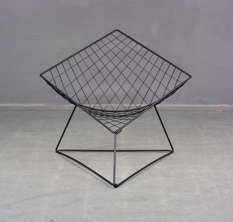 """La chaise """"Oti'', design par Niels Gammelgaard pour IKEA, années 1980 Adjugée 200 EUR le 11 juin 2017 par Lauritz"""