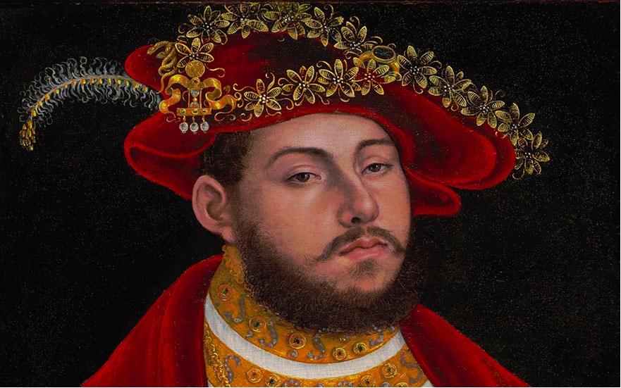Detail des Portraits